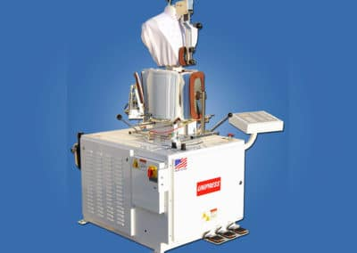 union dry cleaning TUF-R Rotating Tensioning Form Finisher
